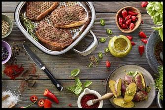Wildkochkurs, Kochen, Wildbret, Wildfleisch, Reh, Wildschwein