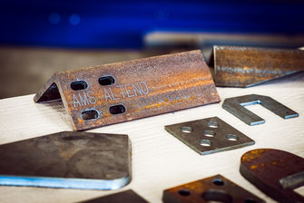 Teile zuschnitt werkstücke AMS Alteno  brennschneiden plasmaschneiden