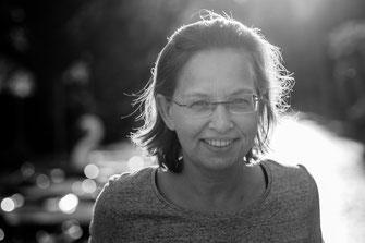 Frau, Outdoor, Bookeh, Portrait