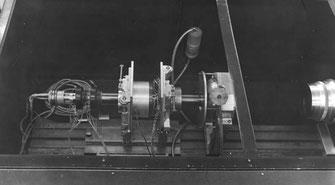 Фрагмент измерительного канала сканера АЭЛТ-1 с прецизионной электронно-лучевой трубкой и репродукционным объективом - Аврора-2