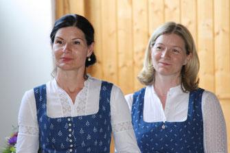 Barbara Marksteiner und Sabine Grünberger, Foto: K. Aichhorn