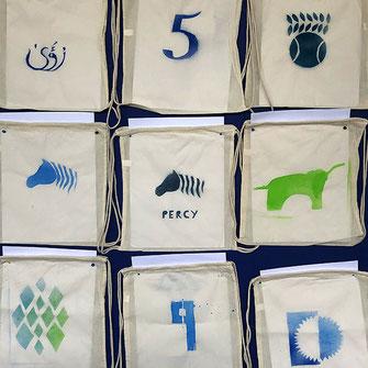 verschiedene Logos