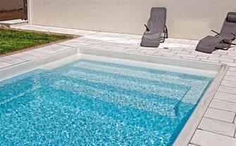 Pergola Intense Rondo Aquakonzept-Schwimmbadtechnik