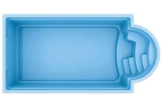 Pergola Concept Rondo Aquakonzept-Schwimmbadtechnik