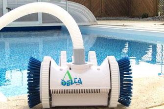 Schwimmbadtechnik, Schwimmbadzubehör wie Pool-Roboter, Poolheizungen, Poolwasserpflege, Filtertechnik usw von Aquakonzept-Schwimmbadtechnik