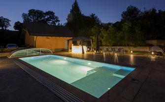 Schwimmbadbau privat, Schwimmbadneubau privat, und Schwimmbadsanierungen Aquakonzept-Schwimmbadtechnik