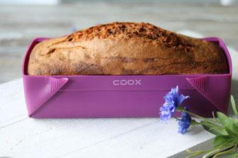 Zebrakuchen aus der coox Wunderform, Marmorkuchen, Rezepte, Kuchenrezepte, Rezeptideen, backen, coox, Wunderform