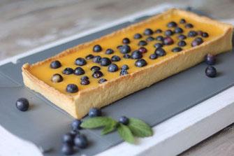 Zitronen-Torte aus der coox Wunderform, Zitrone, Tarte, Kuchenrezepte, Rezeptideen, Rezepte, coox, Wunderform