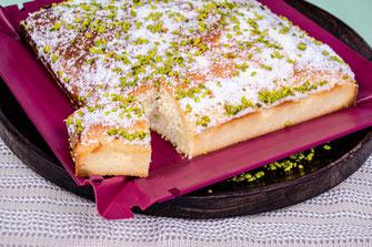 Gries, Grieskuchen, türkisch, Tradition, Spezialität, coox, Wunderform, Kuchen, Kuchenrezepte, Rezepte, Rezeptideen
