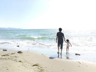 木更津の海。新舞子海岸。ゴールデンウィーク。