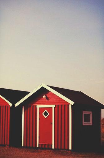 bigousteppes suède cabane viken rouge