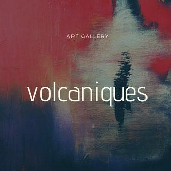 Carole Bécam - Artiste peintre - Galerie d'art - Série volcaniques
