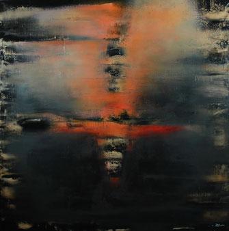 Carole Bécam - Artiste peintre - Série Energie - Captations - 2019