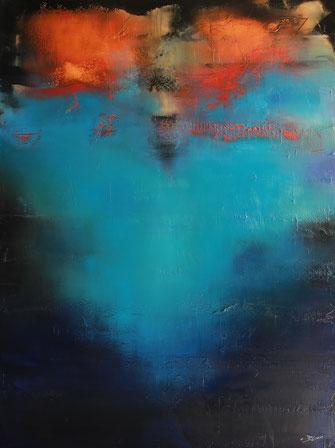 Carole Bécam - Artiste peintre - Série Energie -Immensità - 2020