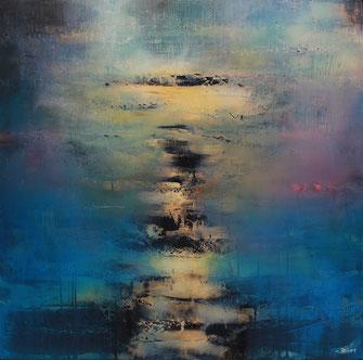 Carole Bécam - Artiste peintre - Série Energie -Sans titre - 2020