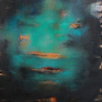 Carole Bécam - Artiste peintre - Série Energie - Damabiah - 2020
