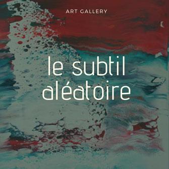 Carole Bécam - Galerie d'Art - Artiste peintre - Série le subtil aléatoire