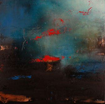 Carole Bécam - Artiste peintre - Série Energie - L'Envol