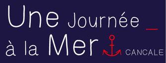 Logo Une Journée à la mer 2 lignes