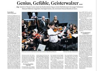 Zuger Zeitung, 5.12.2017