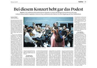 Zuger Zeitung, 3.7.2017