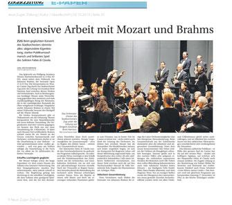 Neue Zuger Zeitung, 2.12.2013