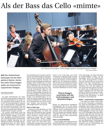 Neue Zuger Zeitung, 30.6.2014