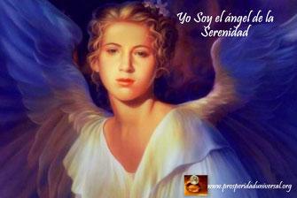 fluyen palabras de ángel - yo soy el ángel de la serenidade - prosperidad universal