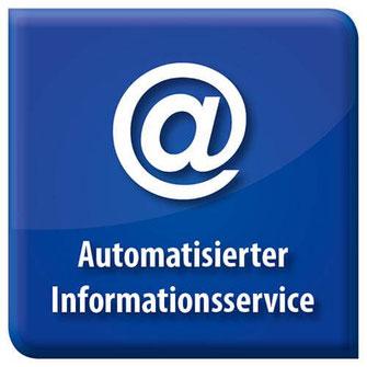 Bild Symbol Automatisierter Informationsservice Bonusprogramme