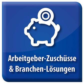 Bild Symbol Arbeitgeber-Zuschüsse und Branchen-Lösungen Bonusprogramme