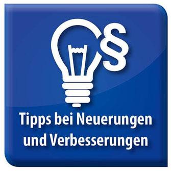 Bild Symbol Tipps bei Neuerungen und Verbesserungen Bonusprogramme