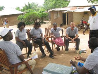 Campagne de surveillance de la qualité des eaux - Bénin