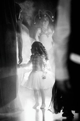 Gaëlle Girbes Circus Life Cirque photographie noir et blanc cirque d'hiver tutu
