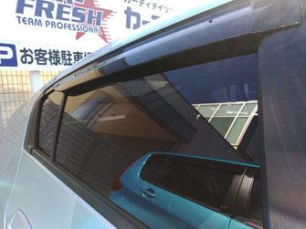 事例2:施工後|車の窓ガラス撥水コーティング【カーフレッシュ新潟】