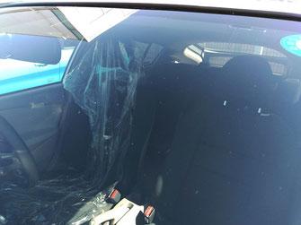 事例1:施工後|車の窓ガラス撥水コーティング【カーフレッシュ新潟】