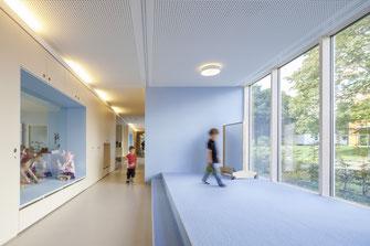 Innenraumgestaltung Kindergarten Talrain Baunatal