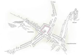 Marktplatz Breisach, WB 3. Preis