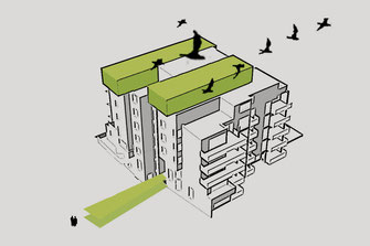 Wohnen über den Dächern in Kassel