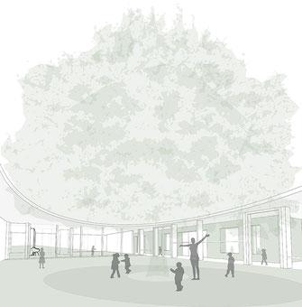 Kindergarten Schwalmstadt, WB 1. Preis