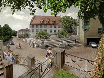 Donauquelle Donaueschingen, WB 1. Preis