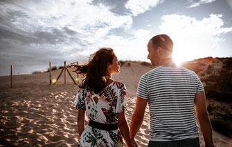 séance engagement couple photographie de mariage rennes bretagne france