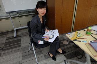 三重県 似顔絵講師