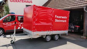 Florian Feuerwehr Steinmark Schlauchwagen SW 1000