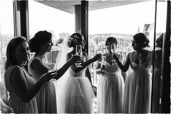 Hochzeitsfotos im The George & Le Canard Hamburg