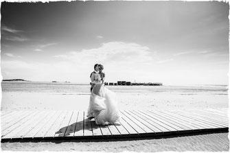 Hochzeitsfotos in Sankt Peter-Ording von Anne Hufnagl