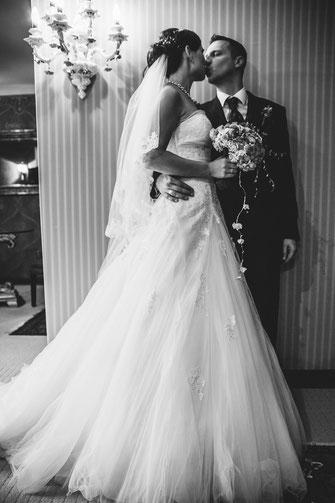 Braut Paarfoto Hochzeitsfotografie
