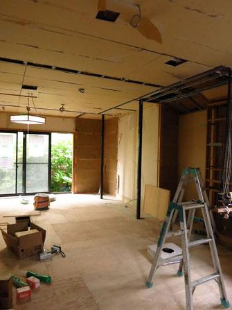 リノベーション 二世帯 耐震 断熱 泉北ニュータウン 堺市 暮らし 家具