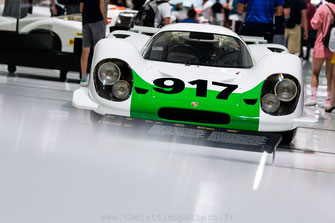 Musée Porsche - Colours of Speed, 50 Jahre Porsche 917