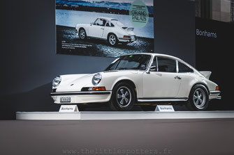 Bonhams 2018 Rétromobile - Porsche 911 2.7 RS
