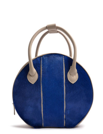 OSTWALD Bags . Finest Couture . Handcrafted Leahterbag . Tote . Leather bag in blue green . Slow fashion